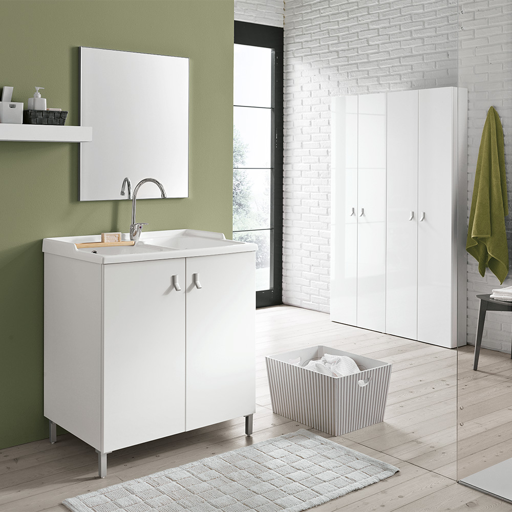 Arredo bagno di servizio fabulous larredo bagno rende disponibili soluzioni compositive per - Arredo bagno vittuone ...